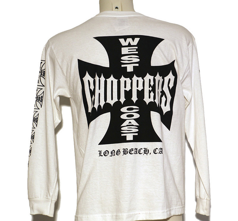 CAMISETA MANGA LARGA WEST CHOPPERS | 1011 | Girona Custom Motorcycles S.L. - Mecánicos especializados en todas las marcas custom